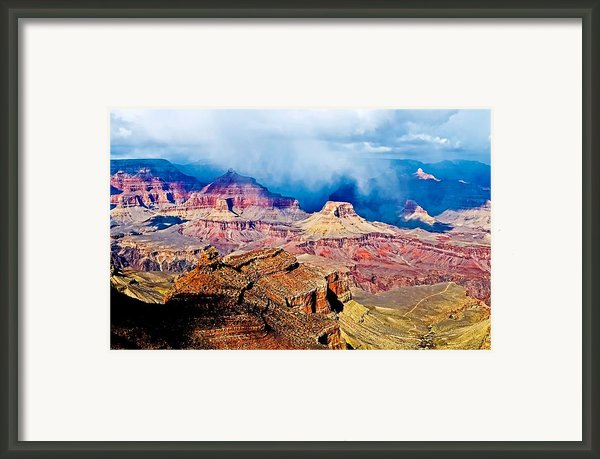 Storm Coming Framed Print By Jag Fergus