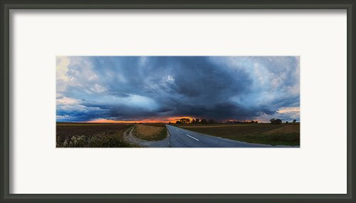 Storm Is Coming Framed Print By Davorin Mance