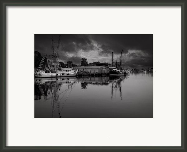 Storm Is Coming  Framed Print By Mario Celzner