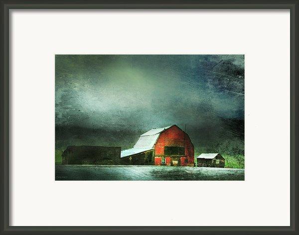 Storm Framed Print By Theresa Tahara