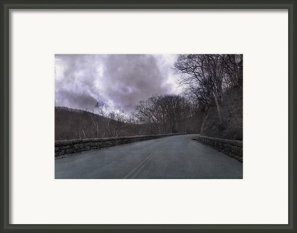 Stormy Blue Ridge Parkway Framed Print By Betsy A  Cutler
