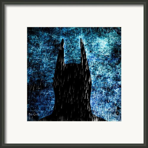 Stormy Knight Dark Knight Framed Print By Bob Orsillo