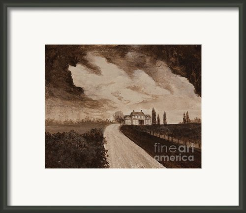 Stormy Weather Framed Print By Darice Machel Mcguire