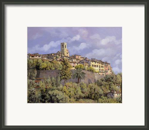 St.paul De Vence Framed Print By Guido Borelli
