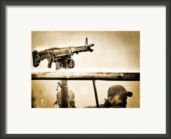 Strange Days Framed Print By Bob Orsillo