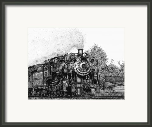 Strasburg Railroad Framed Print By Bruce Kay