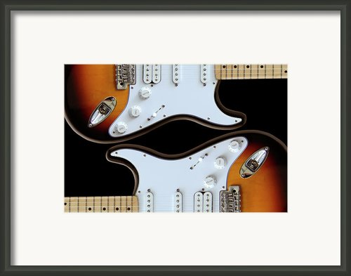 Strat 2 Framed Print By Mike Mcglothlen