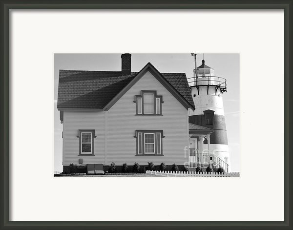 Stratford Point Framed Print By Catherine Reusch  Daley