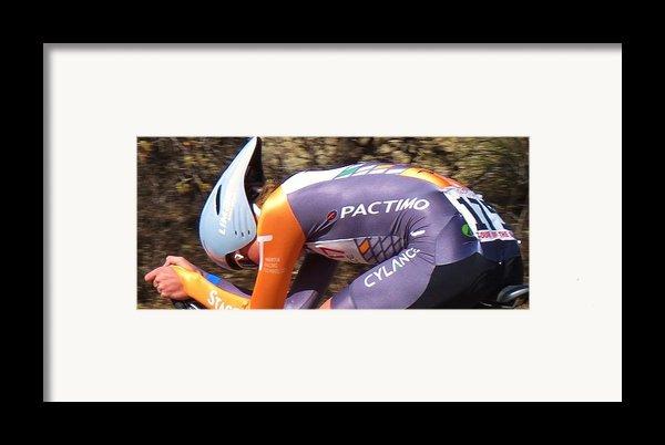 Streamlined For Speed Framed Print By Feva  Fotos