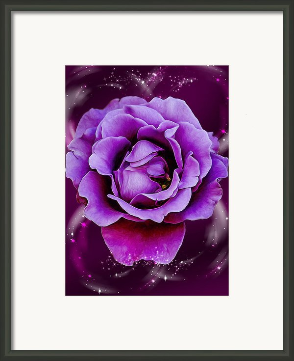 Strength From Beauty Framed Print By Bill Tiepelman
