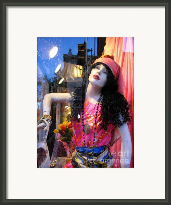 Strike A Pose Framed Print By Colleen Kammerer