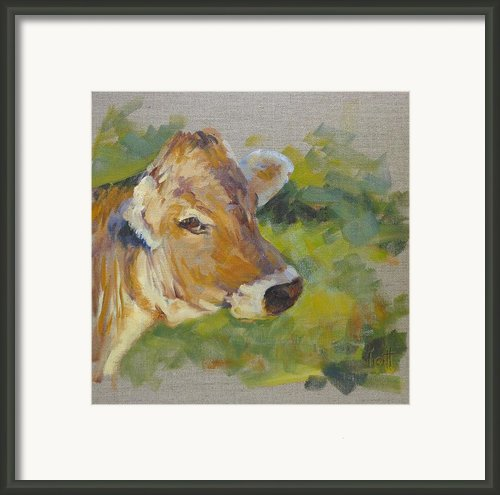 Strike A Pose Framed Print By Donna Shortt