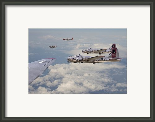 Strike Package Framed Print By Pat Speirs