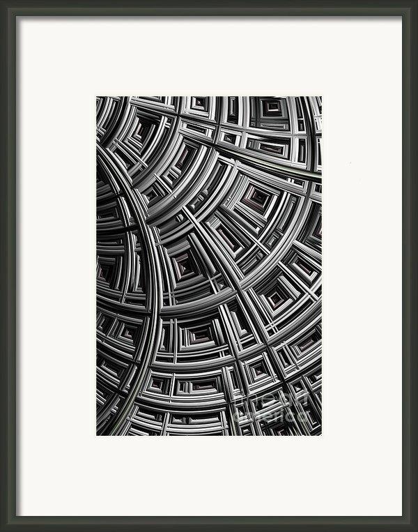 Structure Framed Print By John Edwards