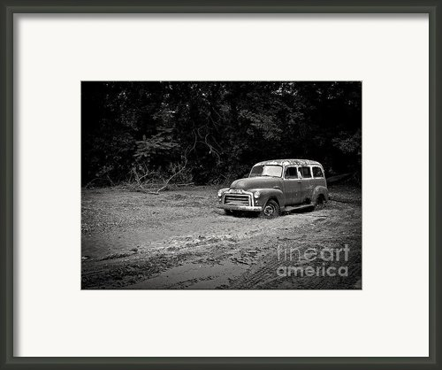 Stuck In The Mud Framed Print By Edward Fielding