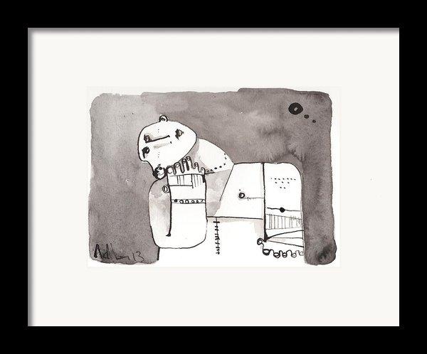Sub Lunam No. 4 Framed Print By Mark M  Mellon