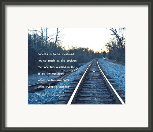 Success Framed Print By Marianne Beukema