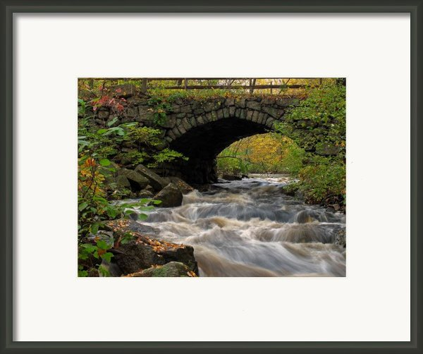 Sudbury River Framed Print By Juergen Roth