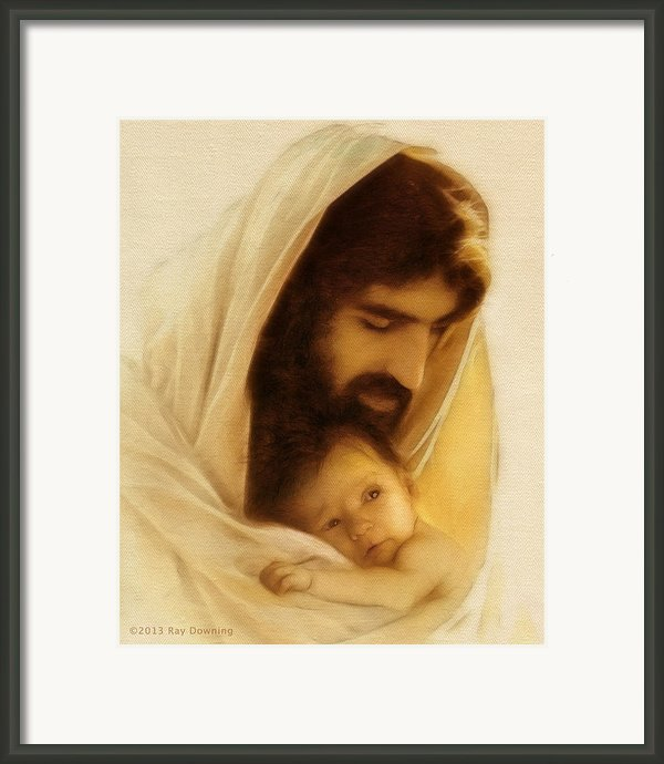 Suffer The Little Children Framed Print By Ray Downing