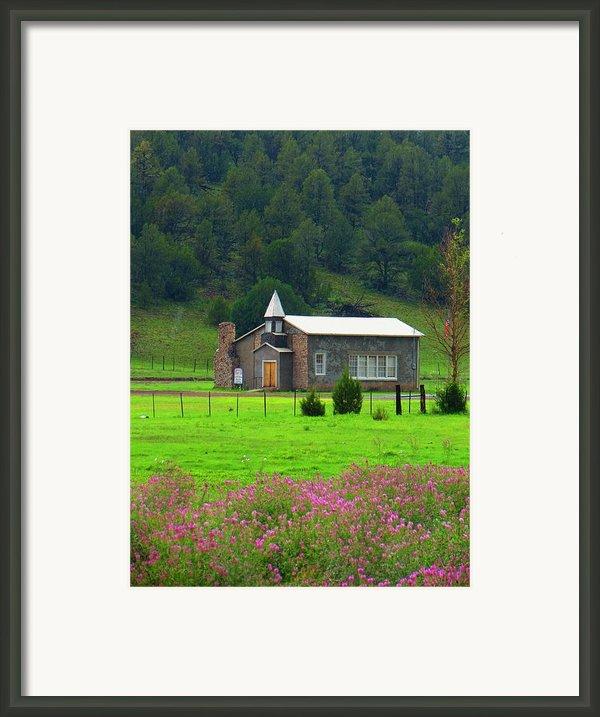 Summer At Apache Creek Framed Print By Feva  Fotos