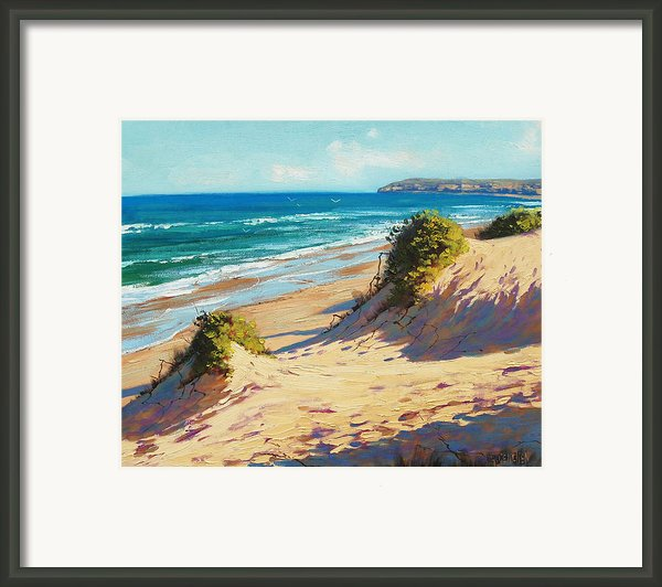 Summer Day The Entrance Framed Print By Graham Gercken