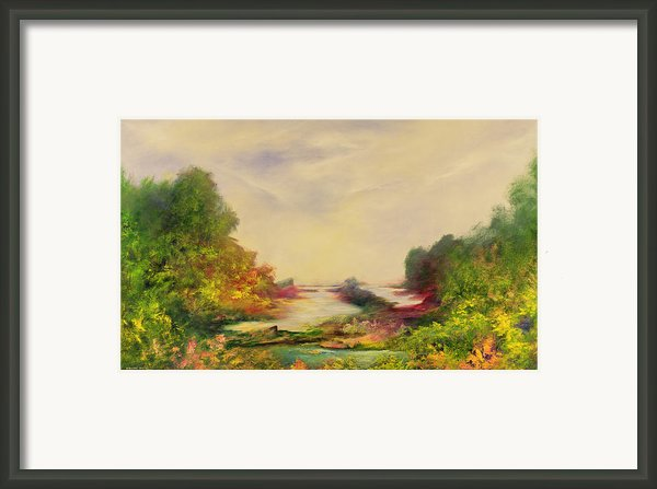 Summer Joy Framed Print By Hannibal Mane