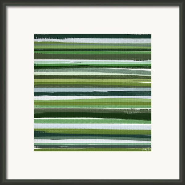 Summer Of Green Framed Print By Lourry Legarde