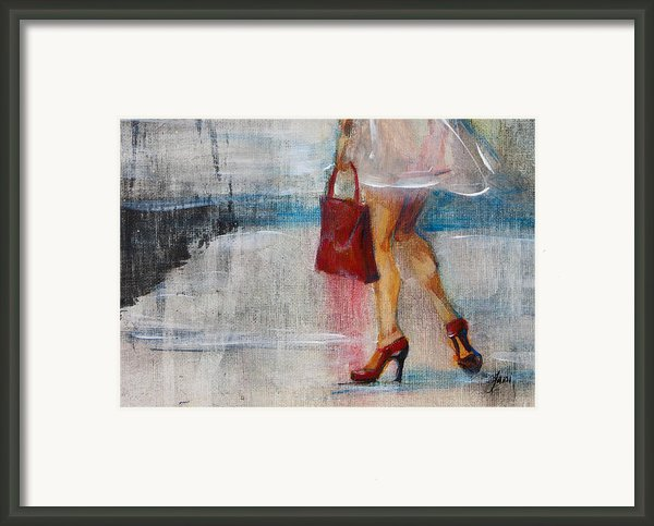 Summer Rain  Framed Print By Jani Freimann