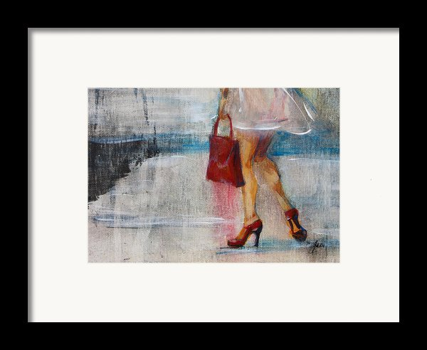 Summer Rain  Framed Print By Jani Freimann
