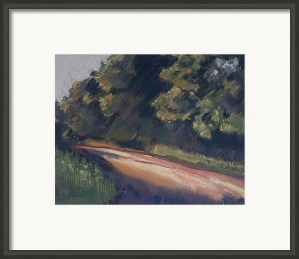 Summer Roads Framed Print By Grace Keown