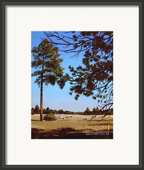 Summer Serenity Framed Print By Suzanne Schaefer