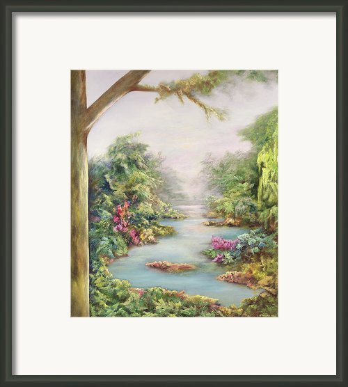 Summer Vista  Framed Print By Hannibal Mane