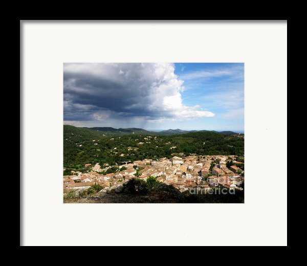 Sun And Rain Framed Print By Lainie Wrightson