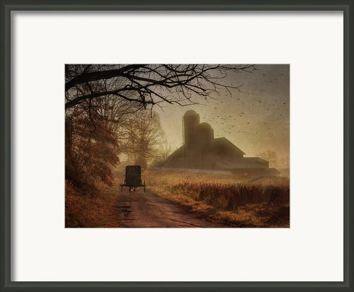 Sunday Morning Framed Print By Lori Deiter
