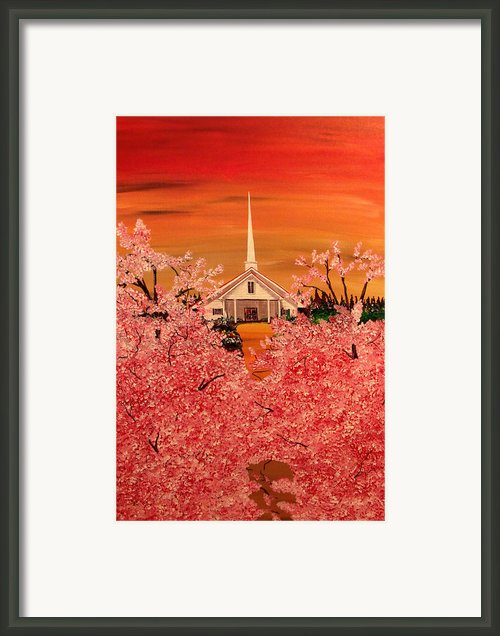 Sunday Morning Framed Print By Mark Moore