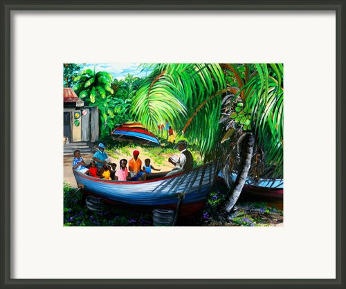 Sunday School Framed Print By Karin Best