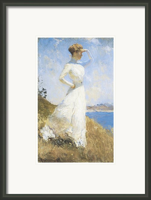 Sunlight Framed Print By Frank Benson