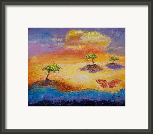 Sunny Islands Framed Print By William Killen