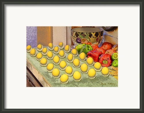 Sunny Side Up Framed Print By Chuck Staley