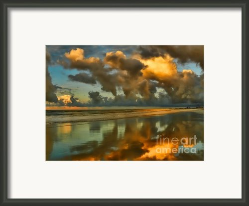 Sunrise At Myrtle Beach Ii Framed Print By Jeff Breiman