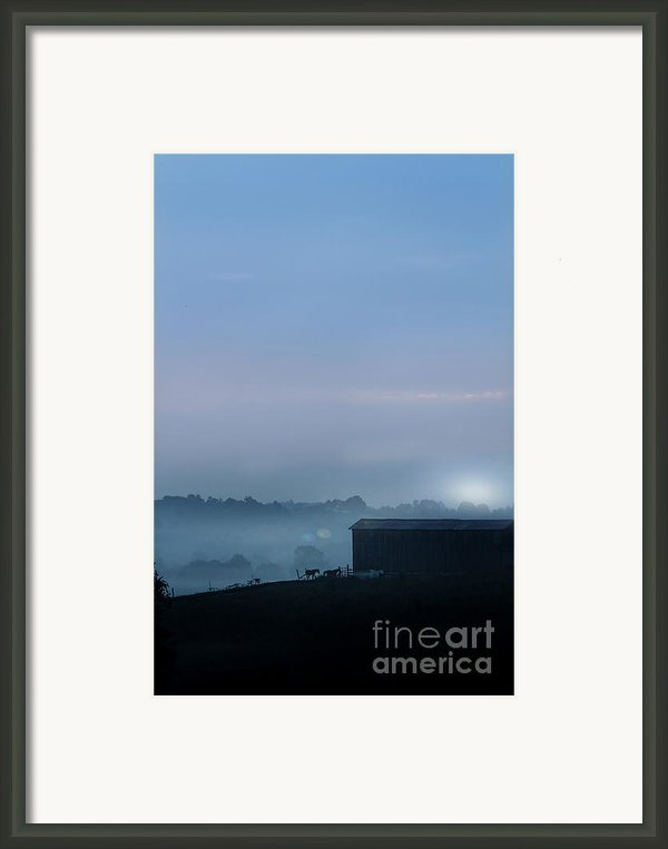 Sunrise In Kentucky Framed Print By Stephanie Frey