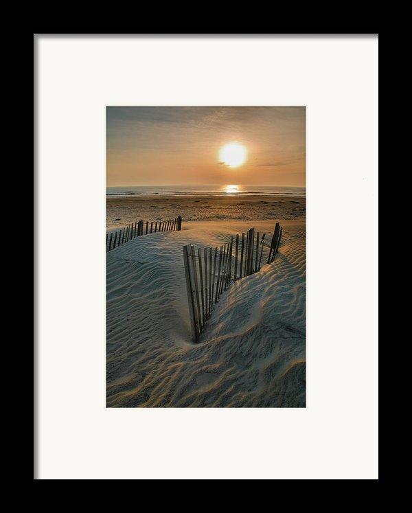Sunrise Over Hatteras Framed Print By Steven Ainsworth