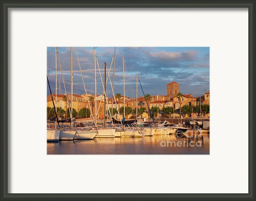 Sunrise Over La Ciotat France Framed Print By Brian Jannsen