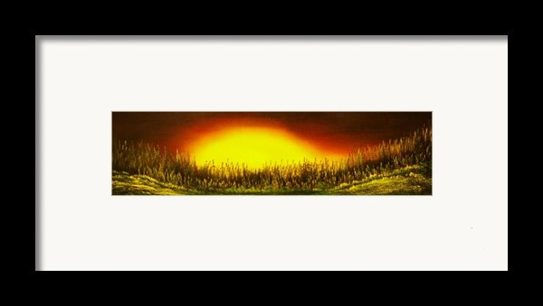 Sunset Groove-buy Giclee Print Nr 17 Framed Print By Eddie Michael Beck