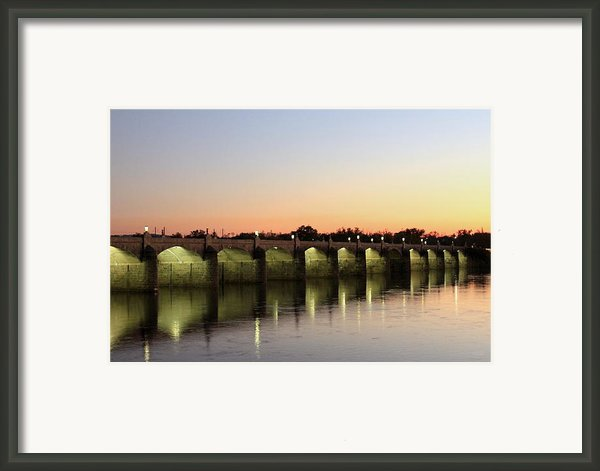 Sunset Hues Framed Print By Deborah  Crew-johnson