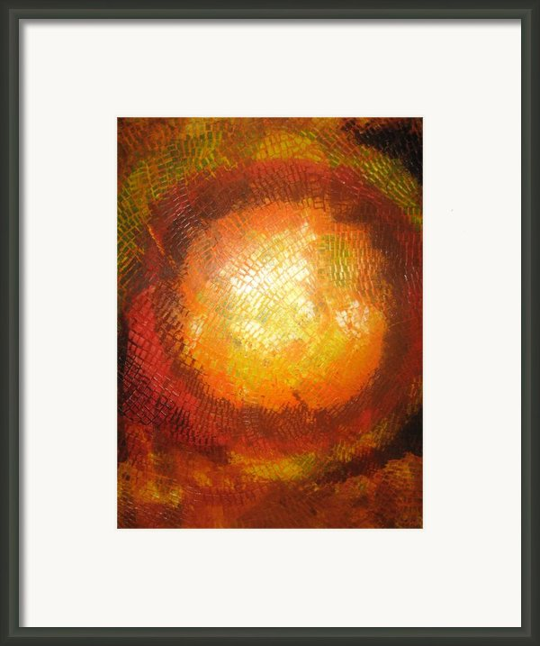 Sunset In The Fall Framed Print By Michael Kulick