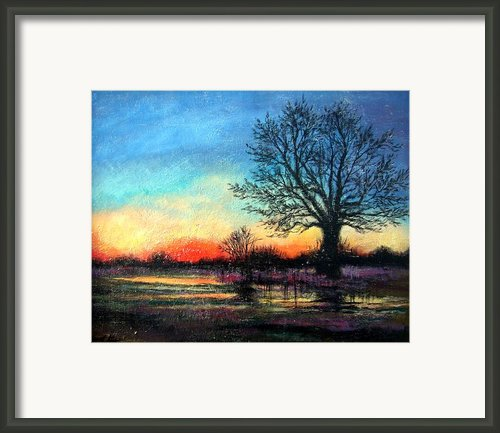 Sunset Framed Print By Janet King
