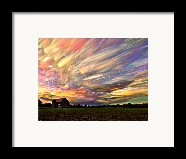Sunset Spectrum Framed Print By Matt Molloy