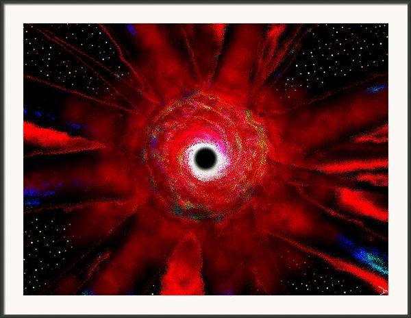 Super Massive Black Hole Framed Print By David Lee Thompson