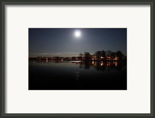 Super Moon  Framed Print By Mark Ashkenazi
